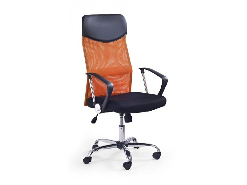 VIRE křeslo kancelářské oranžové