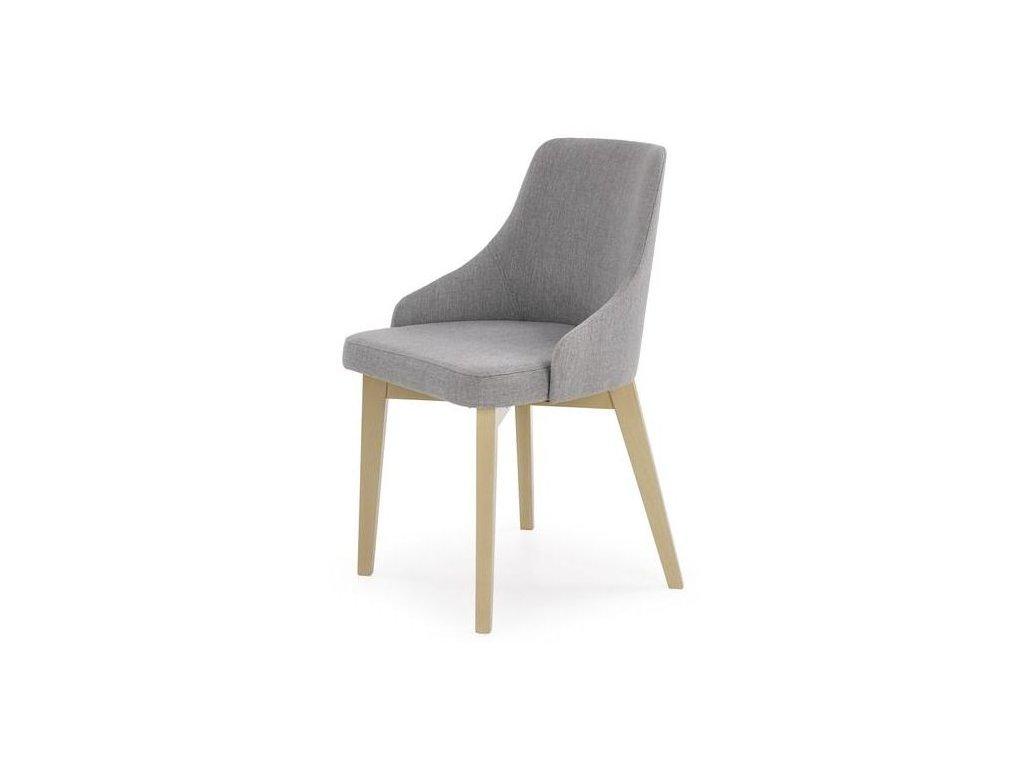 TOLEDO židle dub sonoma / polstrování: inari 91