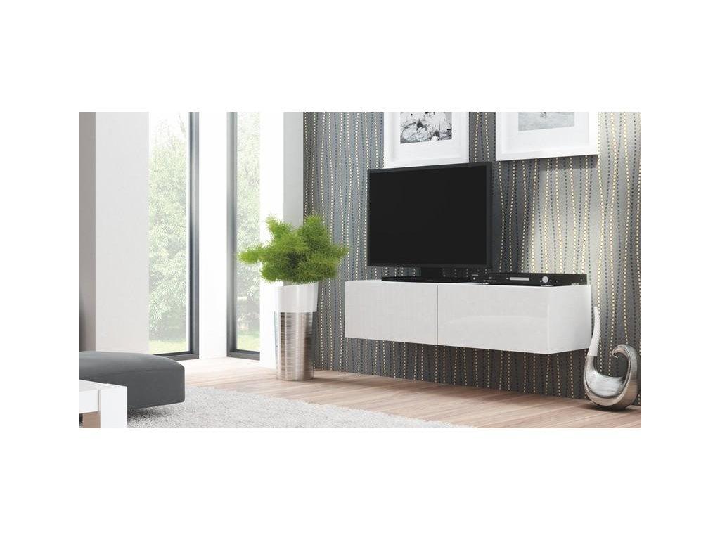LIVO RTV 160 závěsná bílá