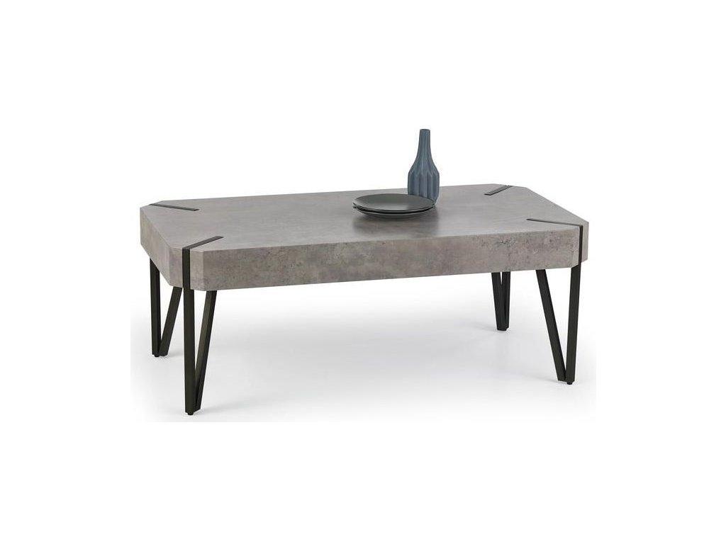 EMILY stolek konferenční beton / černý