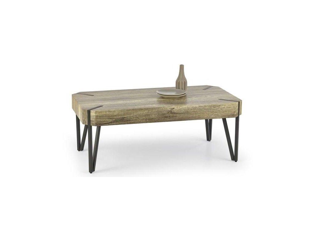 EMILY stolek konferenční dub divoký / černý