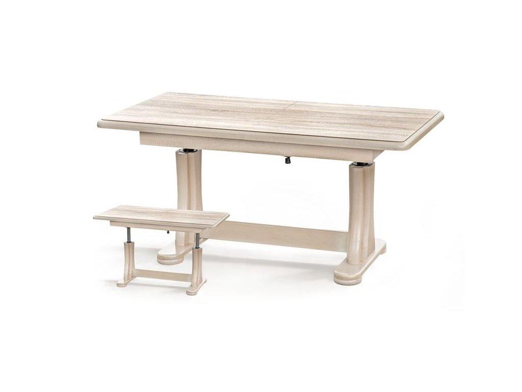 TYMON stolek nízký dub Sonoma