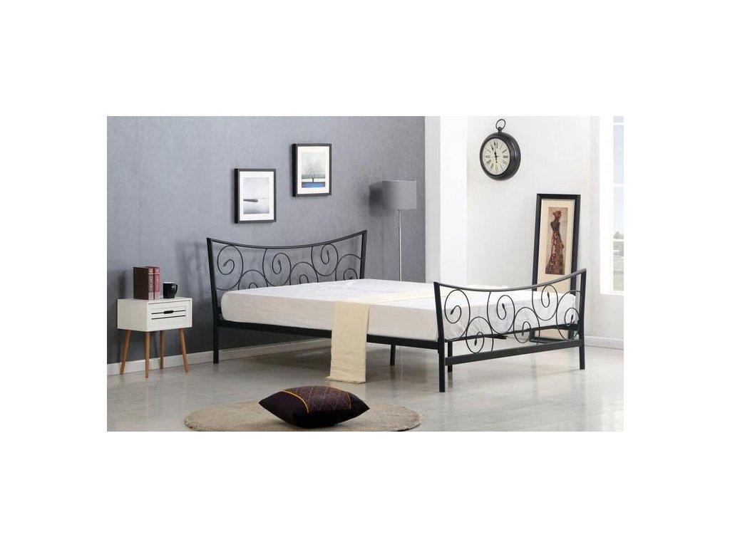 RAMONA postel černá 120x200cm