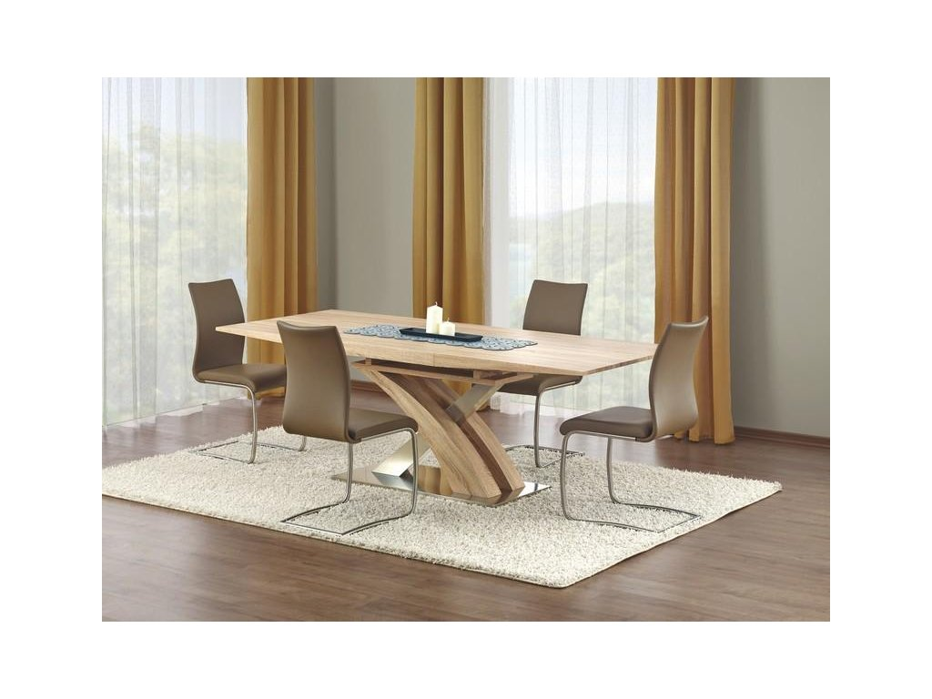 SANDOR stůl rozkládací dub sonoma