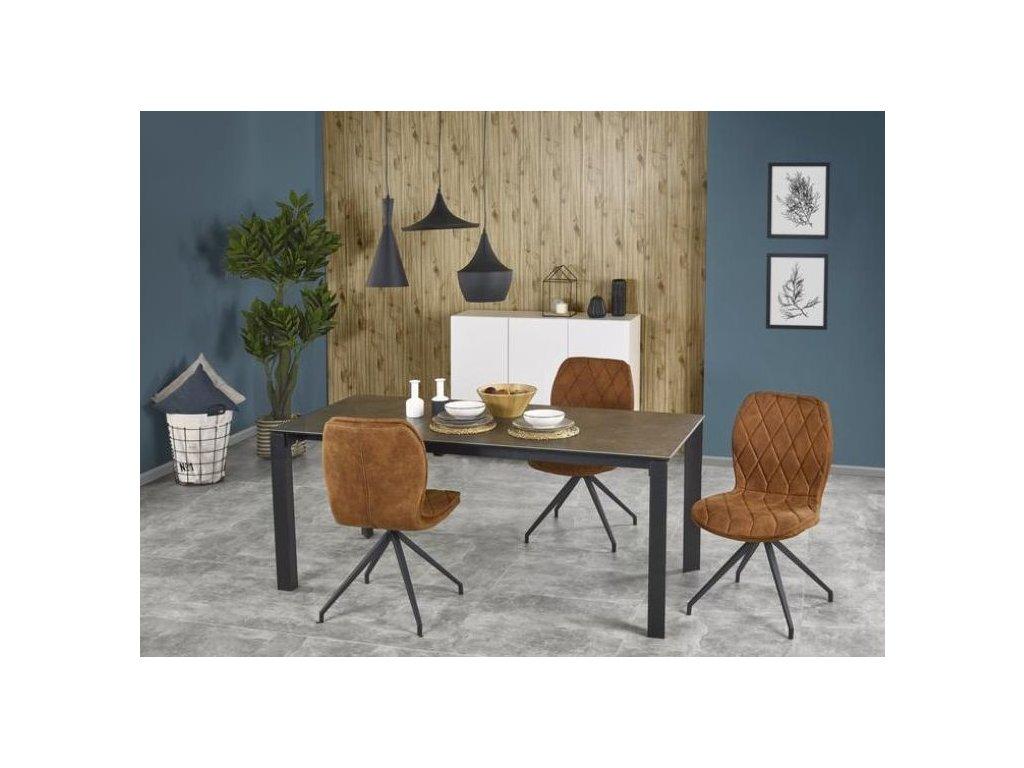 HORIZON stůl šedý