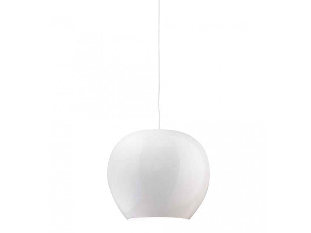 Lustr - lampa MANZANA bílá kov
