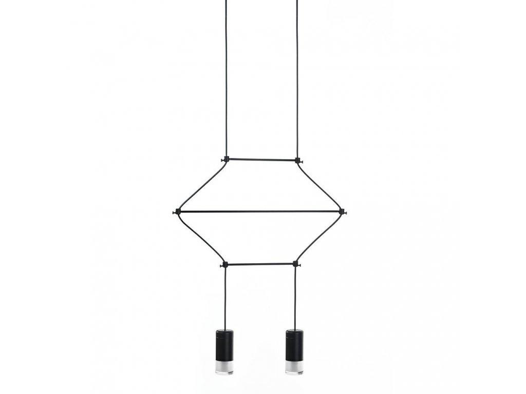 Lustr - lampa závěsná FLUSSO 2