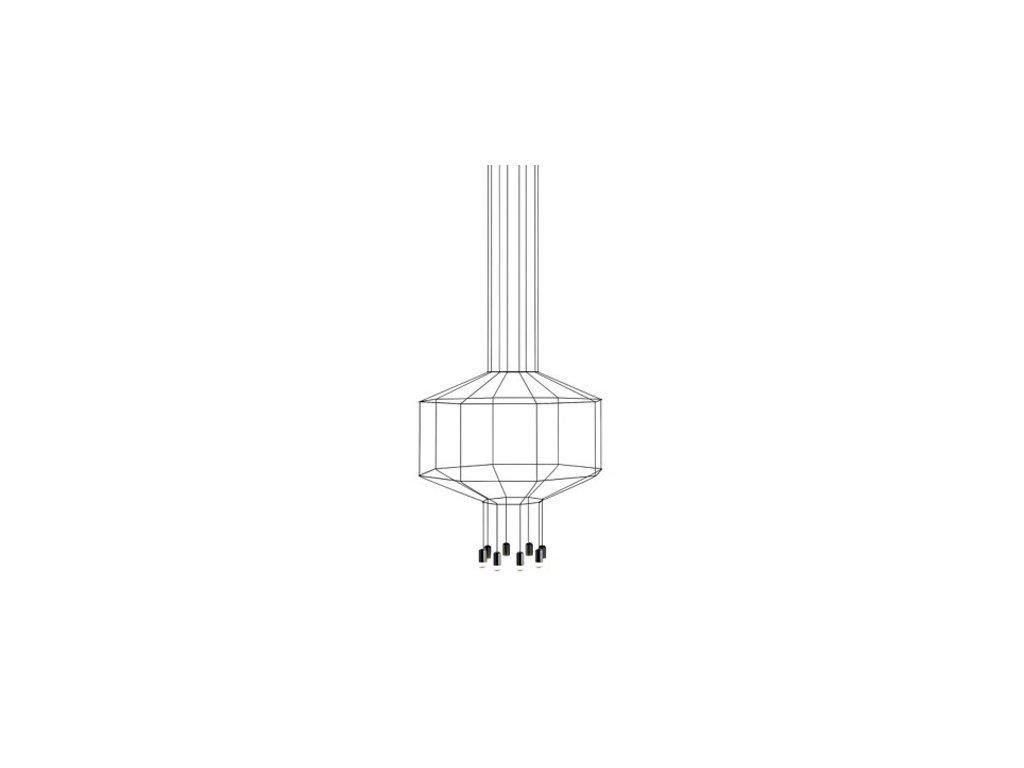 Lustr - lampa závěsná FLUSSO 8