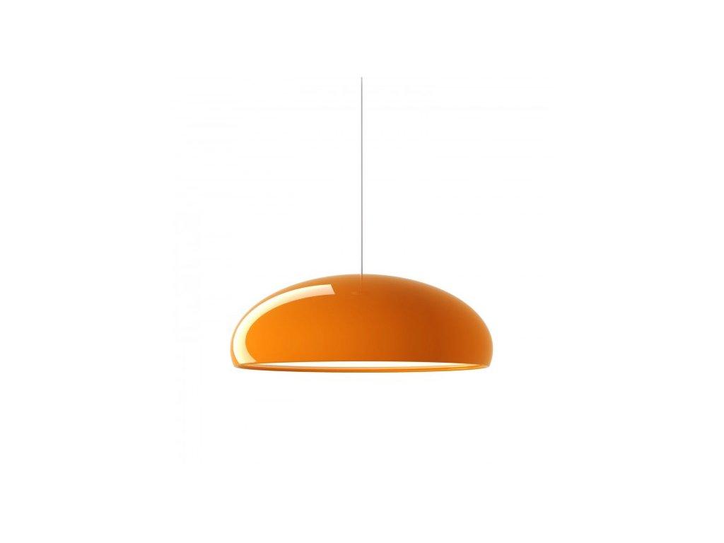 Lustr - lampa závěsná GLOW oranžová