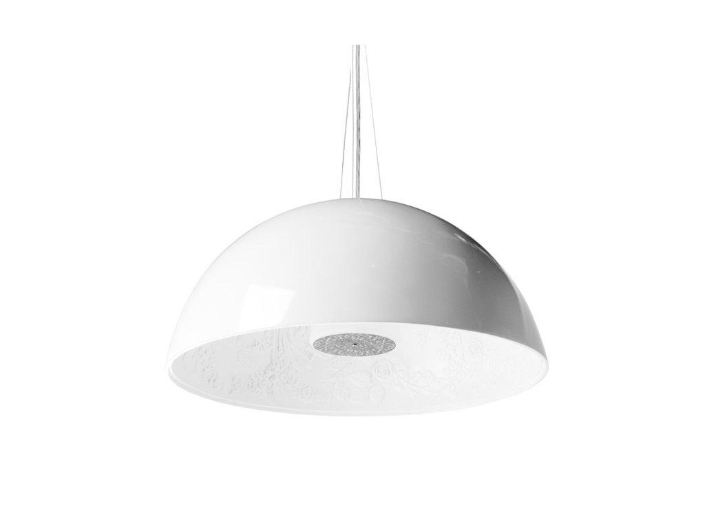 Lustr - lampa závěsná elegantní 60 bílá