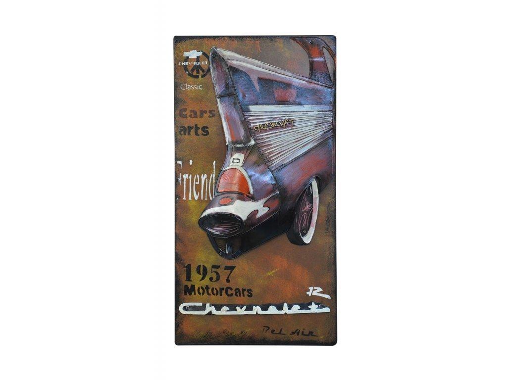 Obrázek 3d CHEVROLET kov