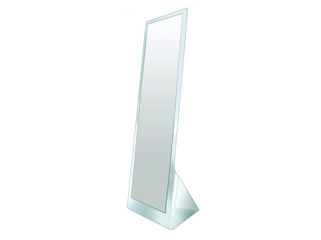 Zrcadlo stojící GLAMOUR sklo transparentní