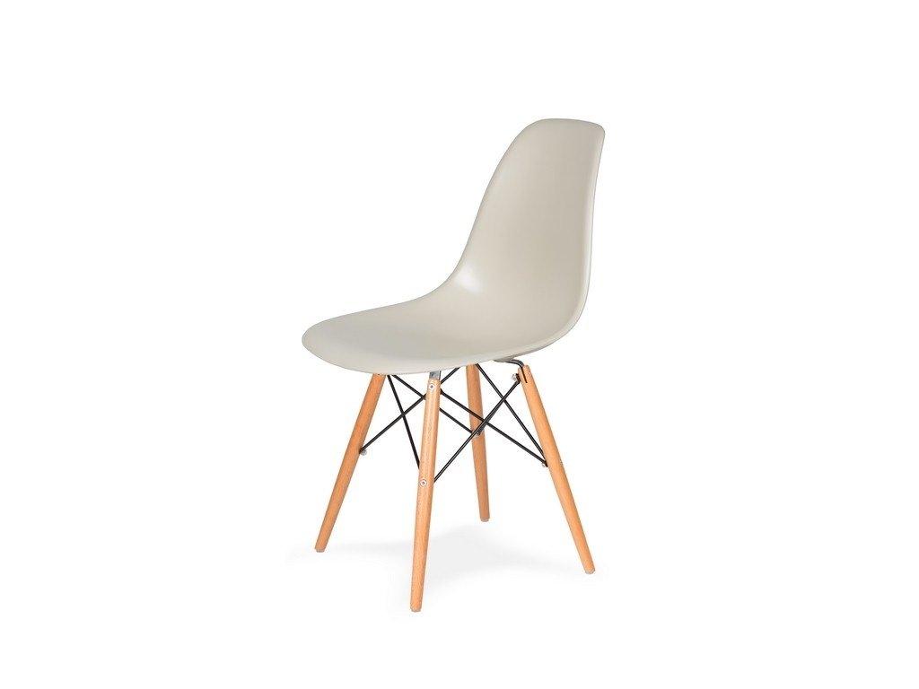 Židle 130-cas1 MIGDAL pralinková #29 abs + nohy bukové