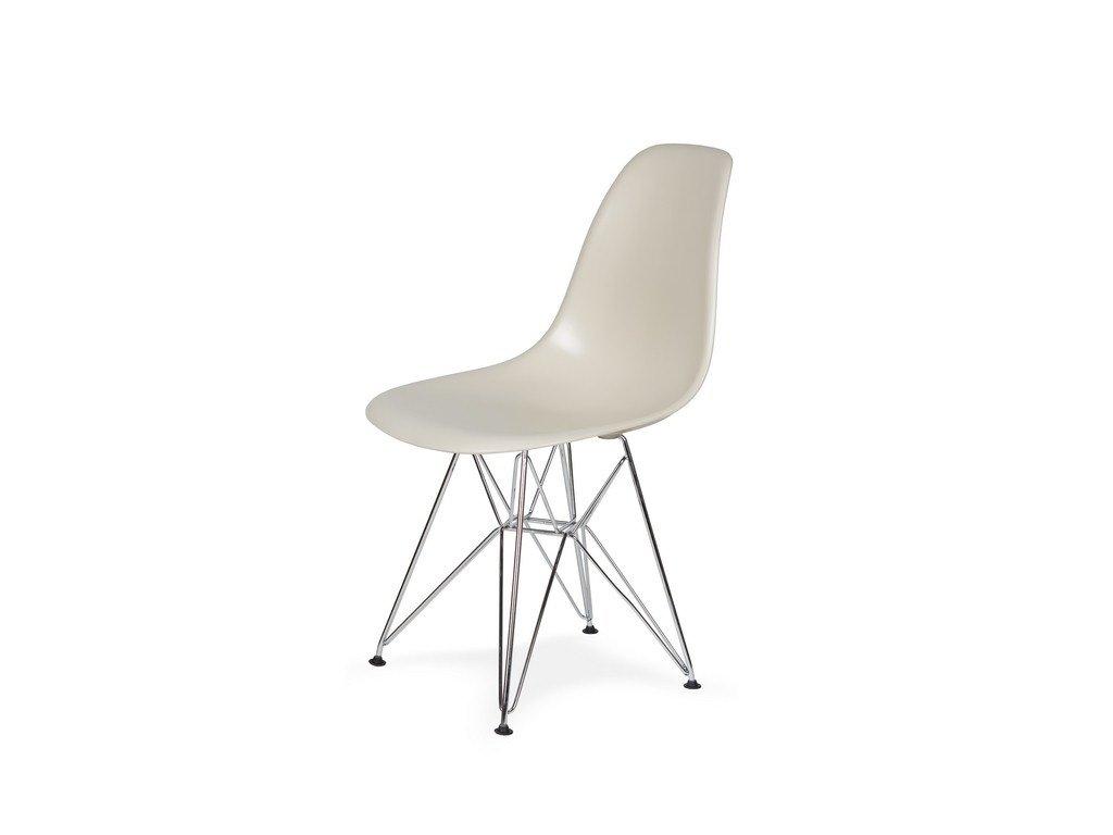Židle 130-cas1 MIGDAL pralinková #29 abs + nohy chromové