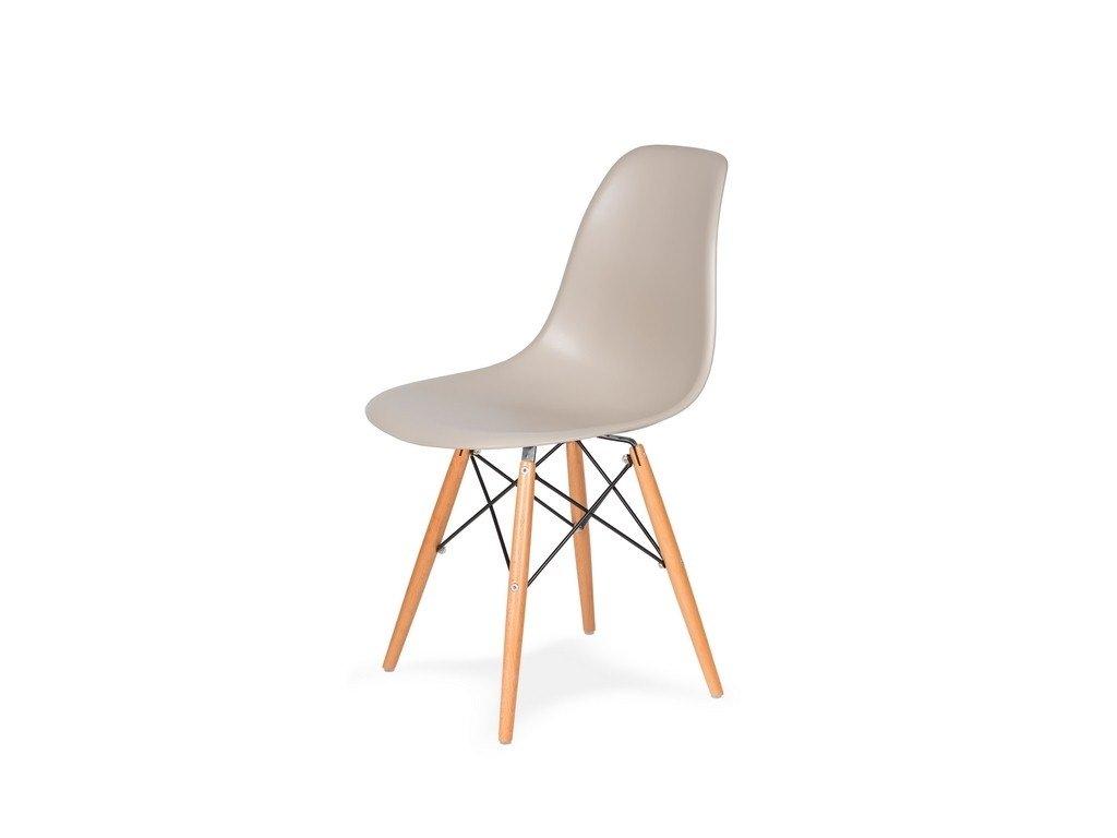 Židle 130-DPP béžová #18 PP + nohy bukové