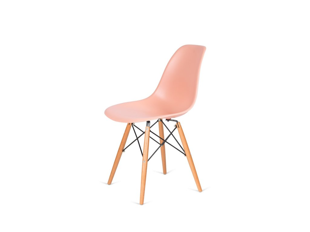 Židle 130-DPP losos #35 PP + nohy bukové