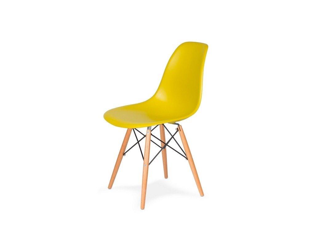 Židle 130-DPP olivová #20 PP + nohy bukové