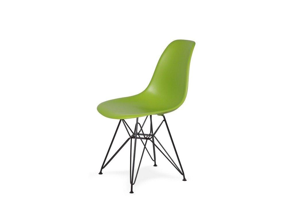 Židle 130-DPP šťavnatá zeleň #13 PP + nohy kovové černá