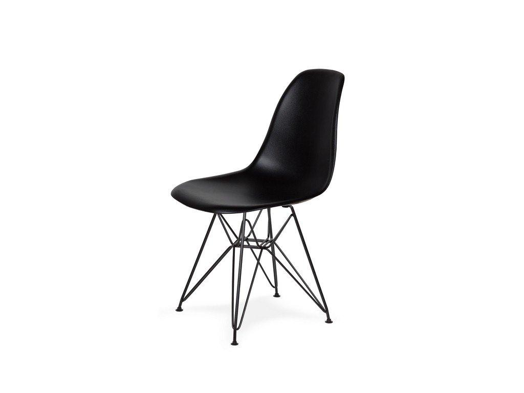 Židle 130-DPP černá #03 PP + nohy kovové černá
