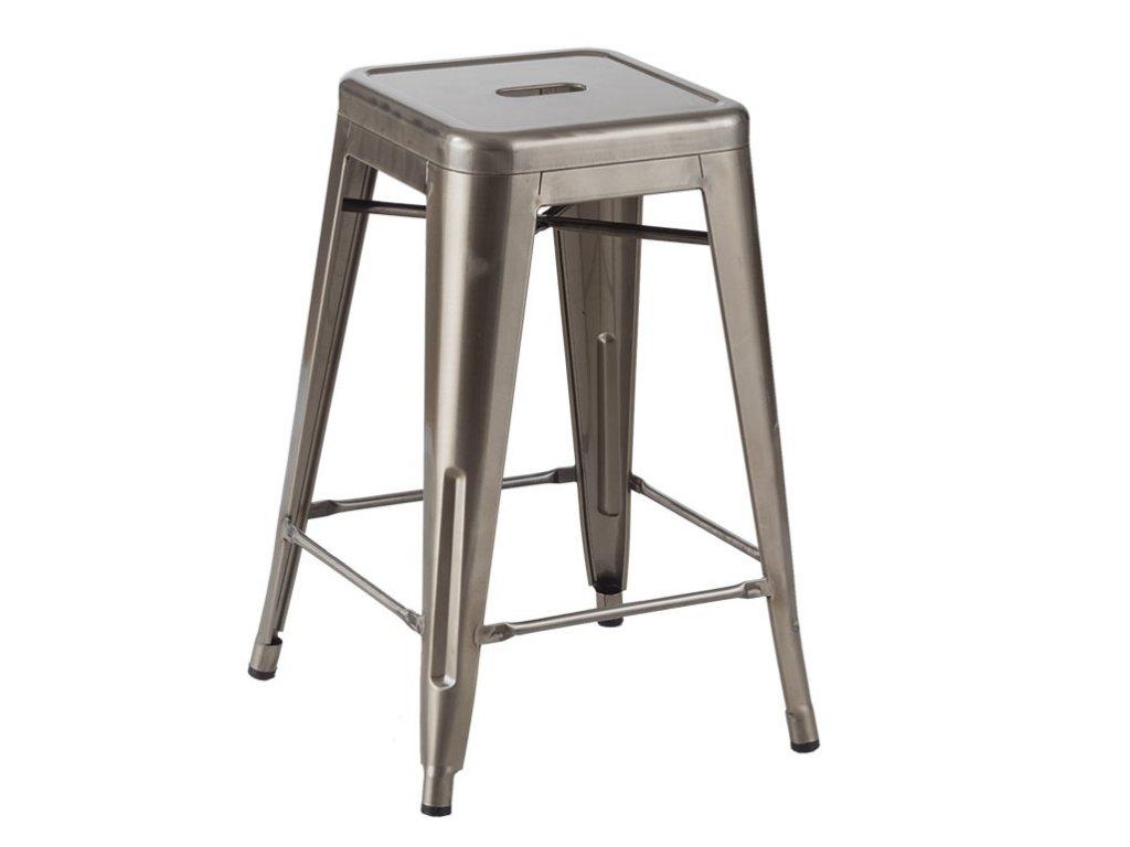 Barová židle TOWER 66 kov
