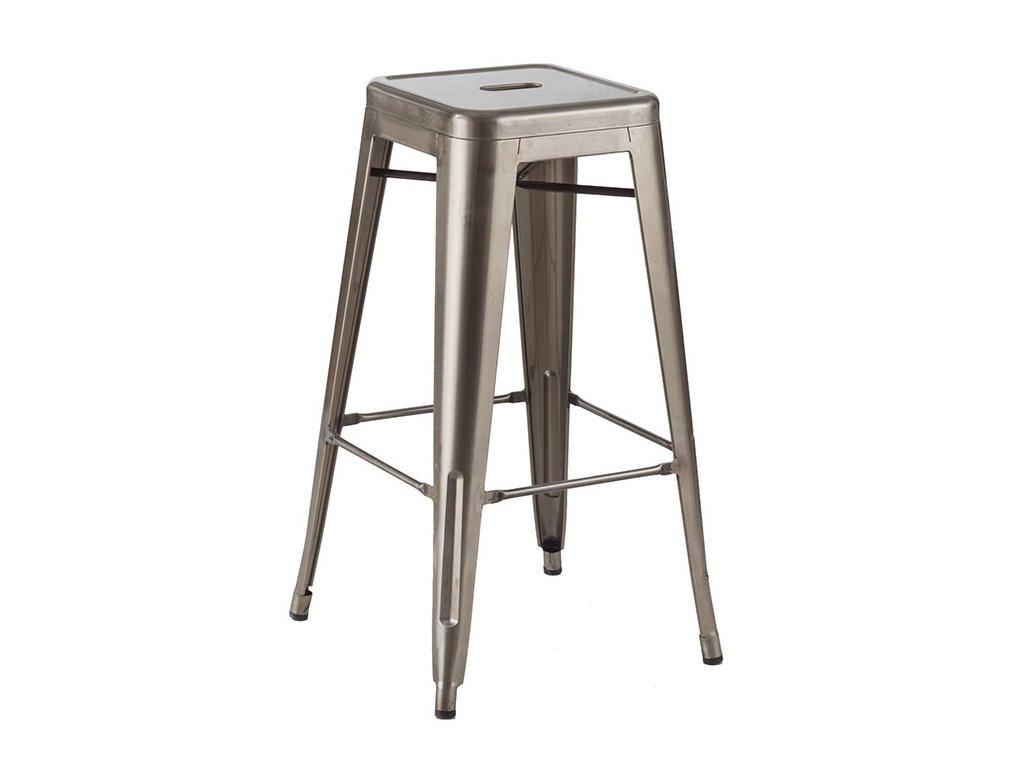 Barová židle TOWER 76cm kov