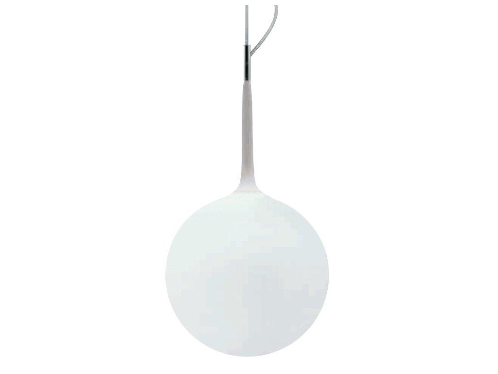 Lustr - Lampa závěsná CASTRO 42 - sklo, ocel