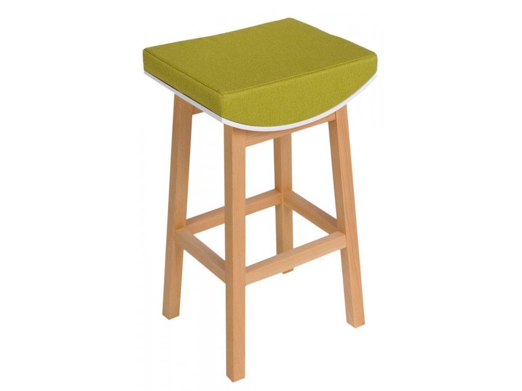 Barová židle TONI zelená