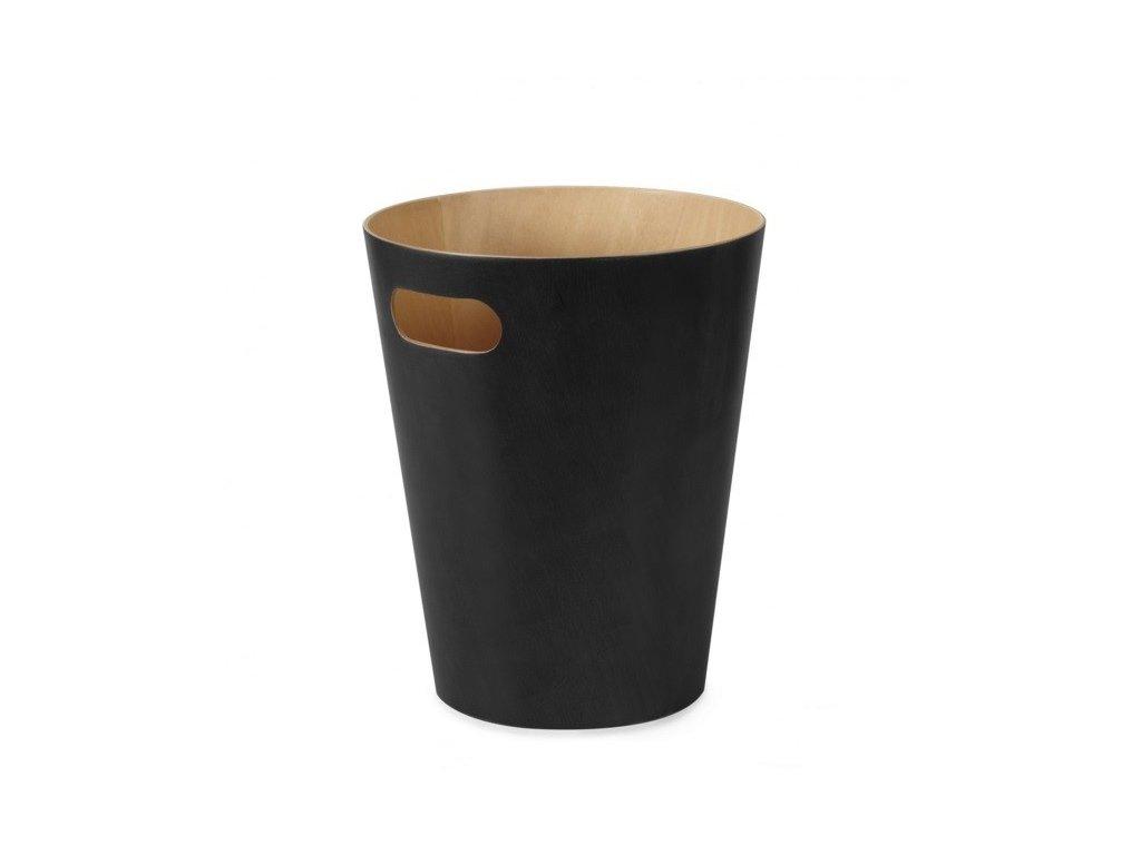 Koš na odpadky WOODROW černý