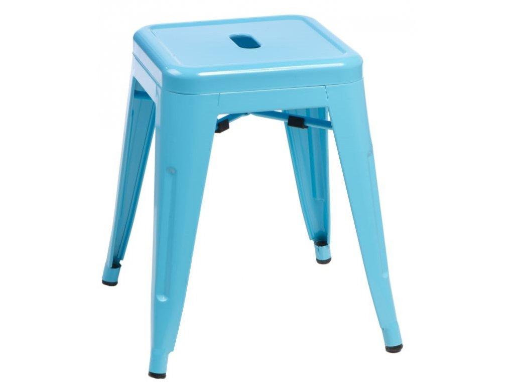 Stolička PARIS modrý inspirovaný TOLIX