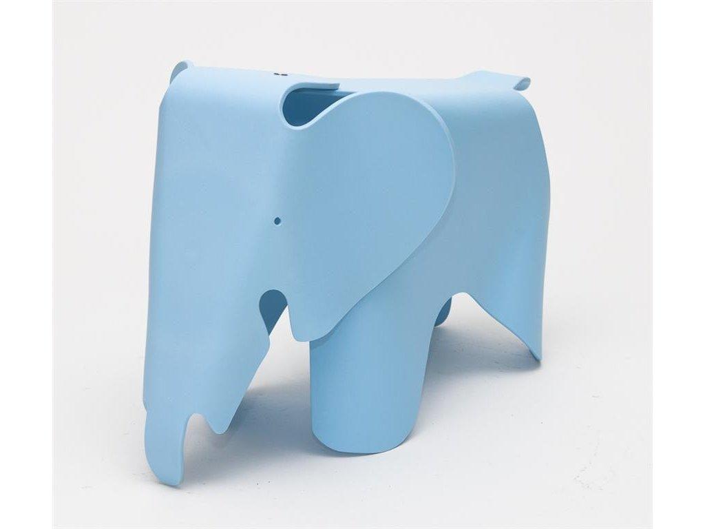 Stolek SLŮNĚ modrý