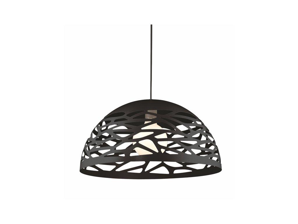 Lustr - závěsná lampa SHADOWS 2 černá