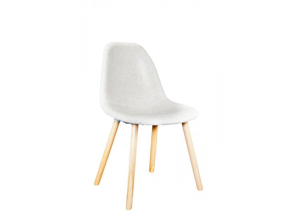 Židle COSY čalouněná, pods. dřevo