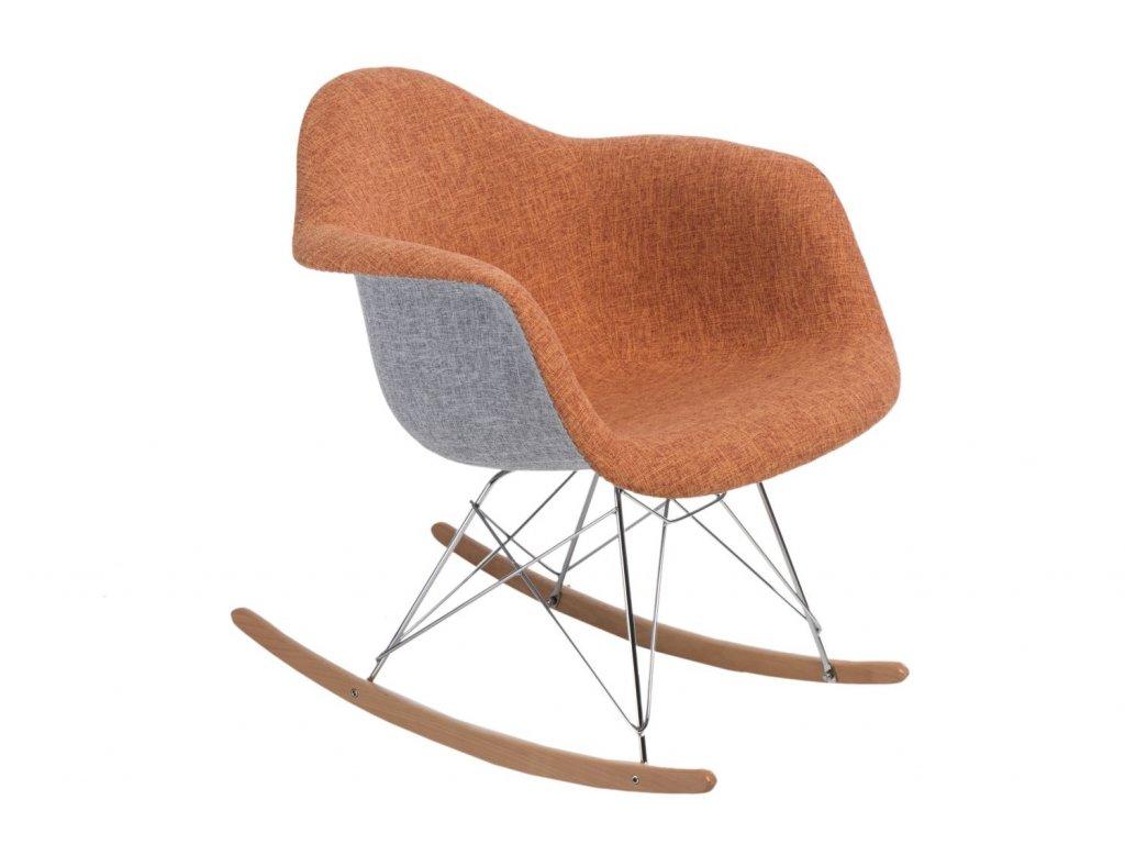 Židle P018 RAR duo oranžová - šedá