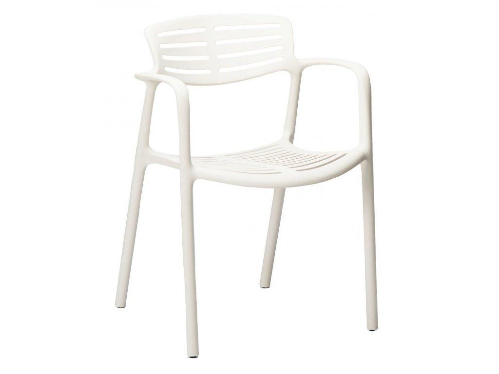Židle TOLEDO AIRE bílá