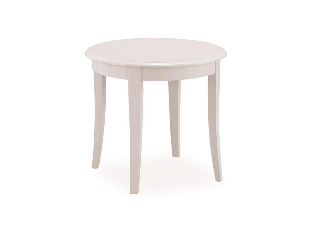 Konferenční stolek CALIFORNIA D bílá