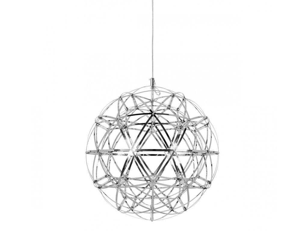 Závěsná lampa STELLAR 45 chrom - nerezová ocel