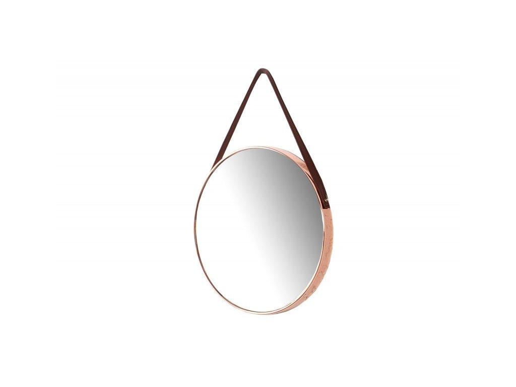 Závěsné zrcadlo PORTRET měděné