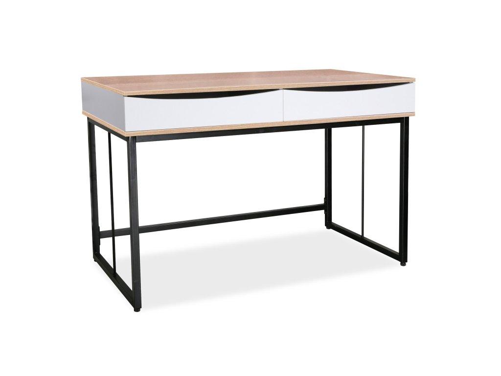 Psací stůl B-170 dub/černý