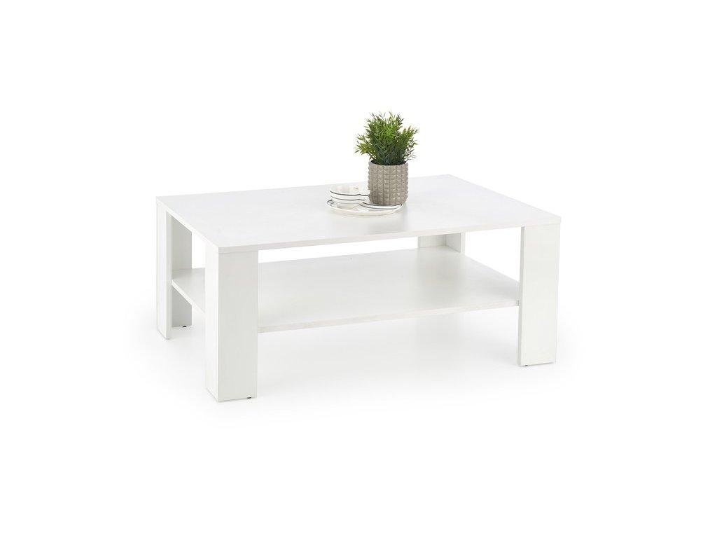 KVADRO stolek bílý