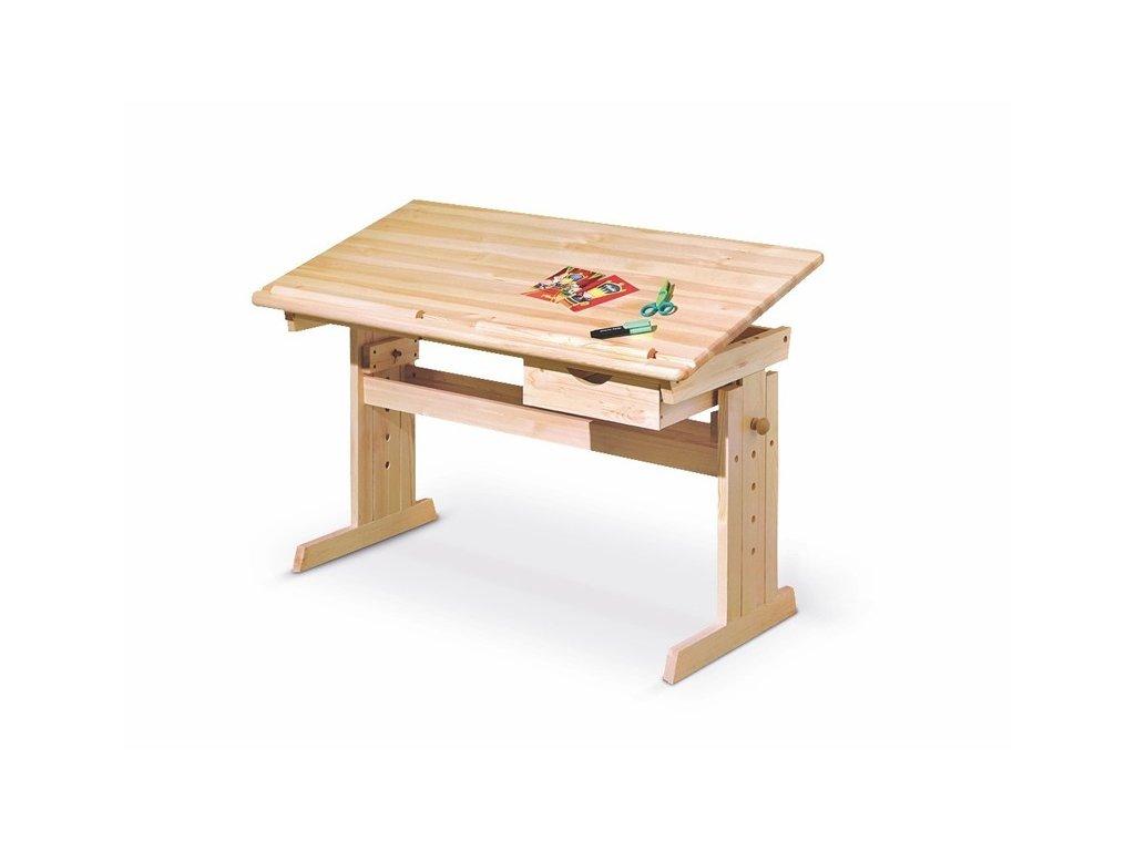 JULIA psací stůl sosna