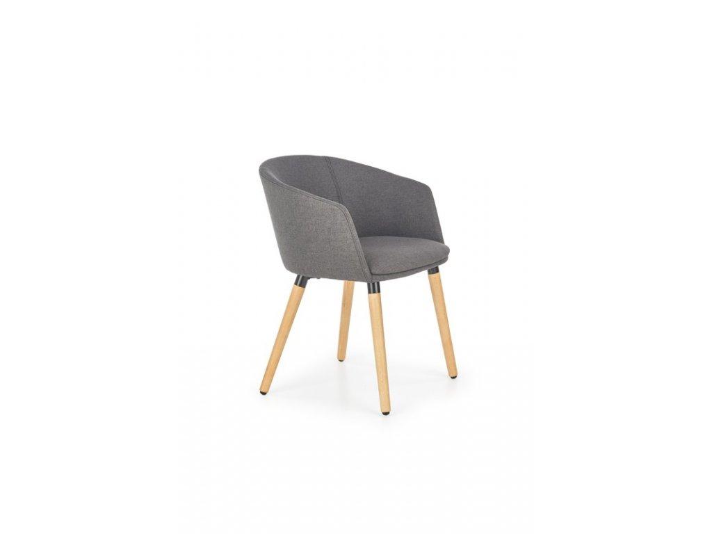 K266 židle tmavě šedá