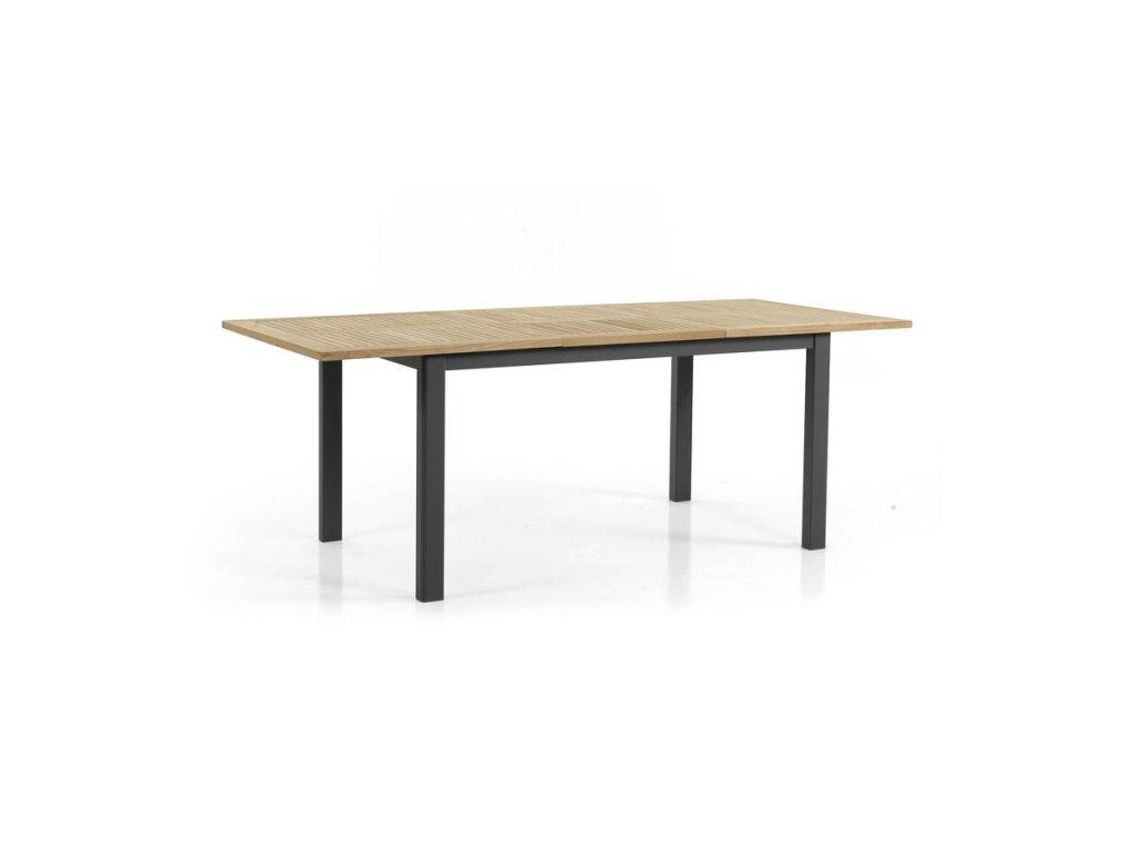 Stůl roztahovací 152-210 Durtal: černý teak