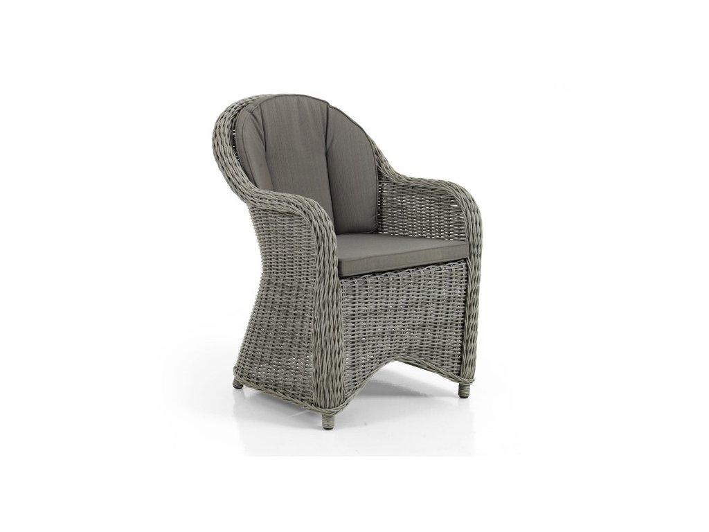 Židle technoratan RODEZ: šedý technoratan