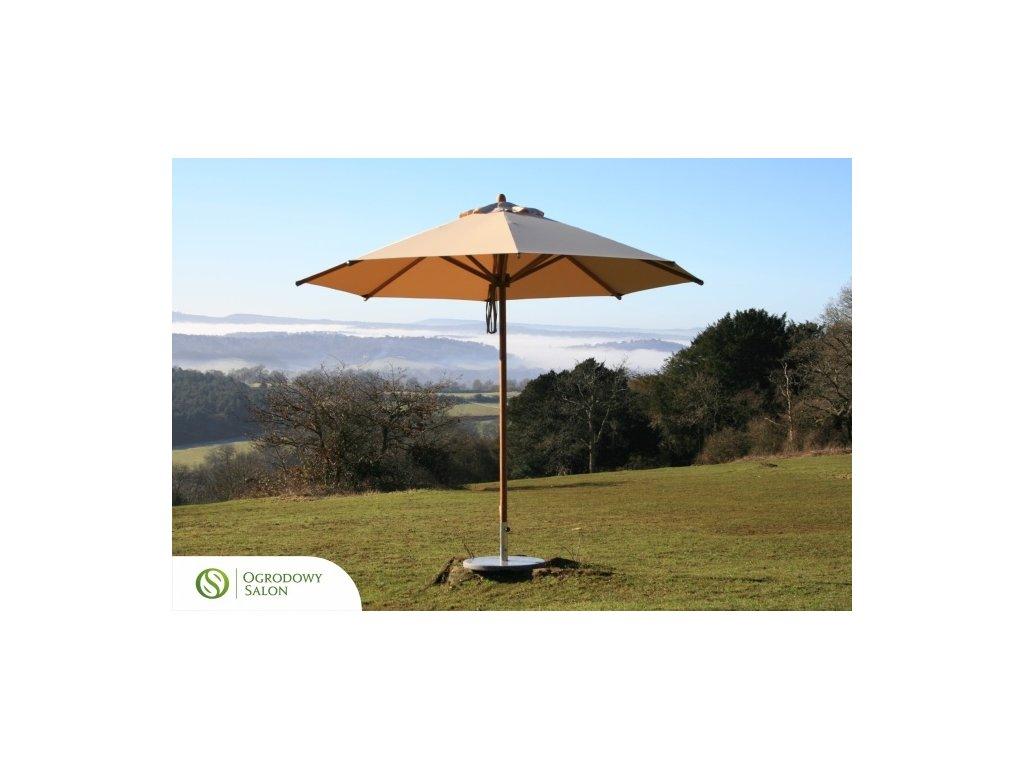 Zahradní deštník 2.5 m bambus