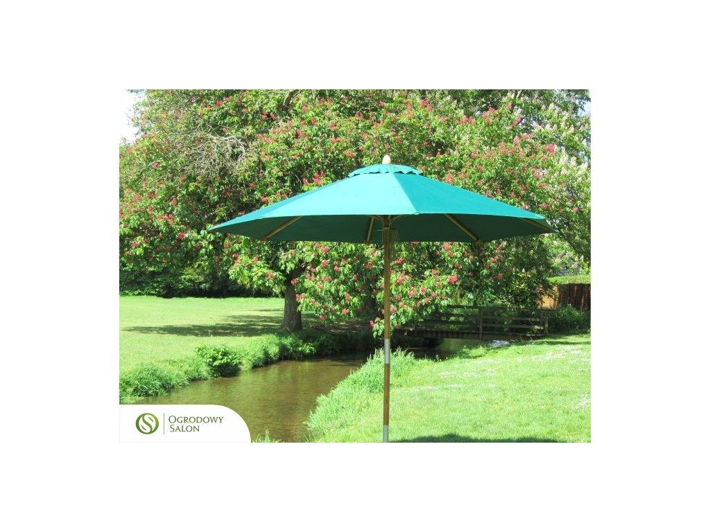 Zahradní deštník 3.5 m bambus