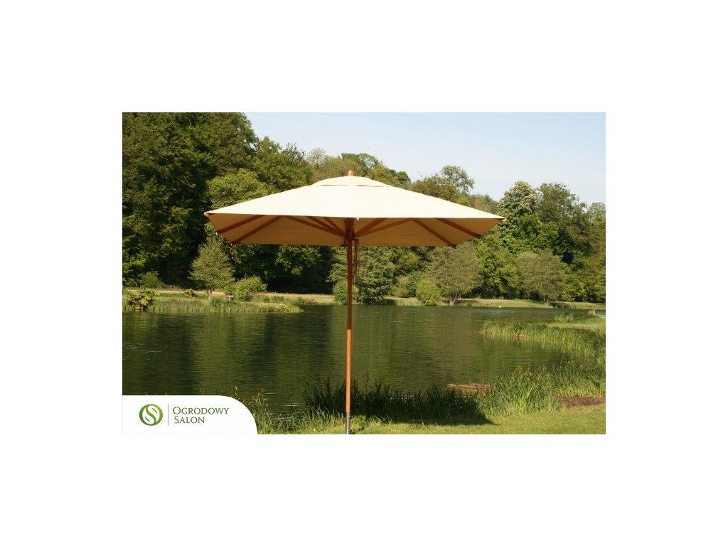 Zahradní deštník 3.5 x 2.5m bambus
