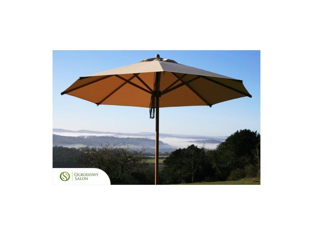 Zahradní deštník 4 m bambus