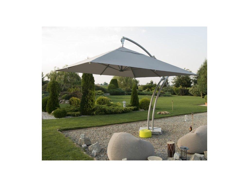 Zahradní deštník hranatý 3.5 m Palma
