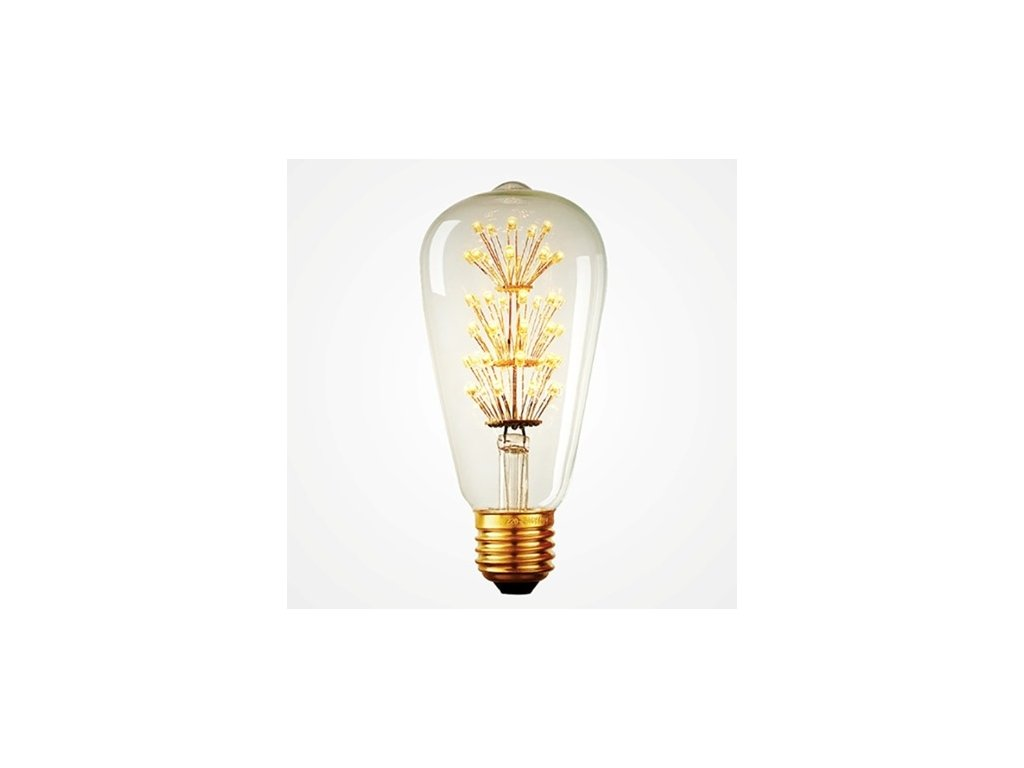 Žárovka Edison LED II- 3W