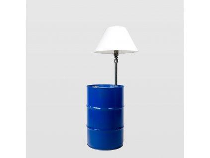 Stojací lampa BARREL modrá